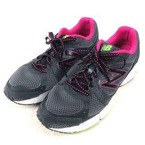 New Balance 495 Women's Gray Pink Running Shoes